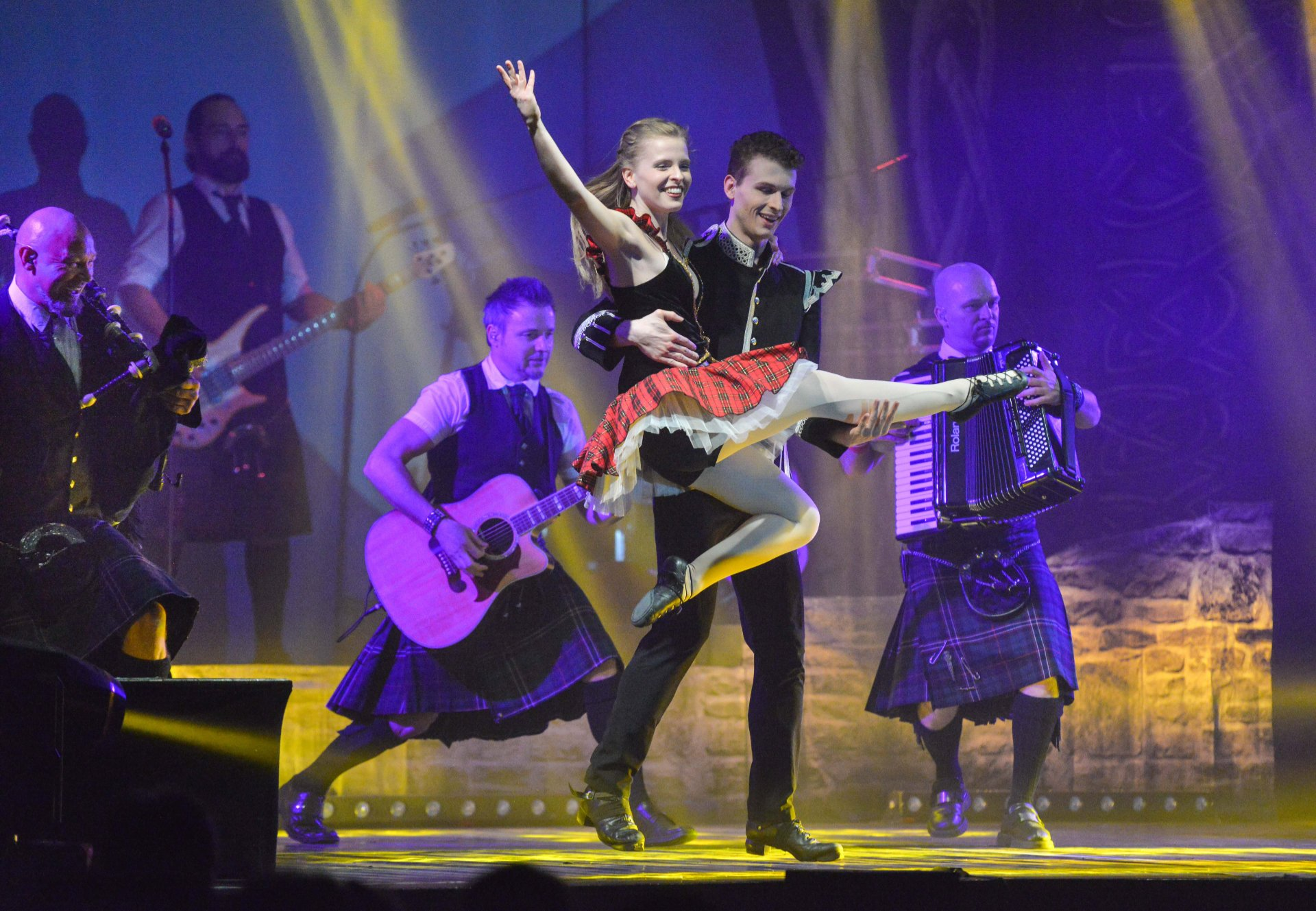 """""""World of Pipe Rock and Irish Dance"""" in der Hilpoltsteiner Stadt"""